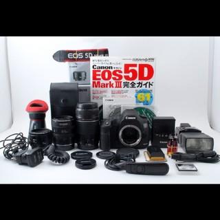 キヤノン(Canon)のキャノン Canon EOS 5D Mark III トリプルレンズセット(デジタル一眼)