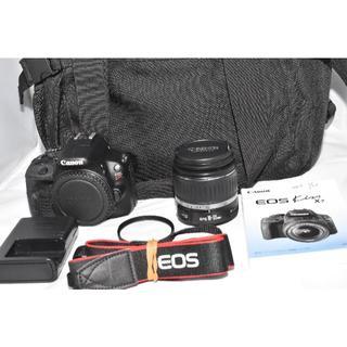 キヤノン(Canon)のEOS Kiss X7 レンズセット ショット数2908回!バッグ付き!(デジタル一眼)