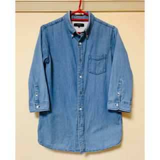 BROWNY - ◆ボタンダウン ダンガリーシャツ