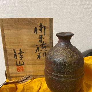 備前焼 徳利 花瓶(花瓶)