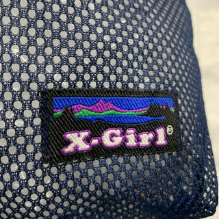 エックスガール(X-girl)のX-girl  メッシュ バッグ(ポーチ)