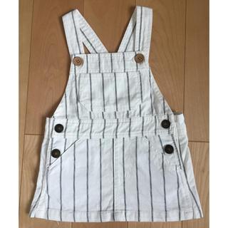 ニシマツヤ(西松屋)のジャンパースカート 80サイズ(ワンピース)