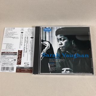 【美品SHM-CD】Sarah Vaughan / Clifford Brown(ジャズ)