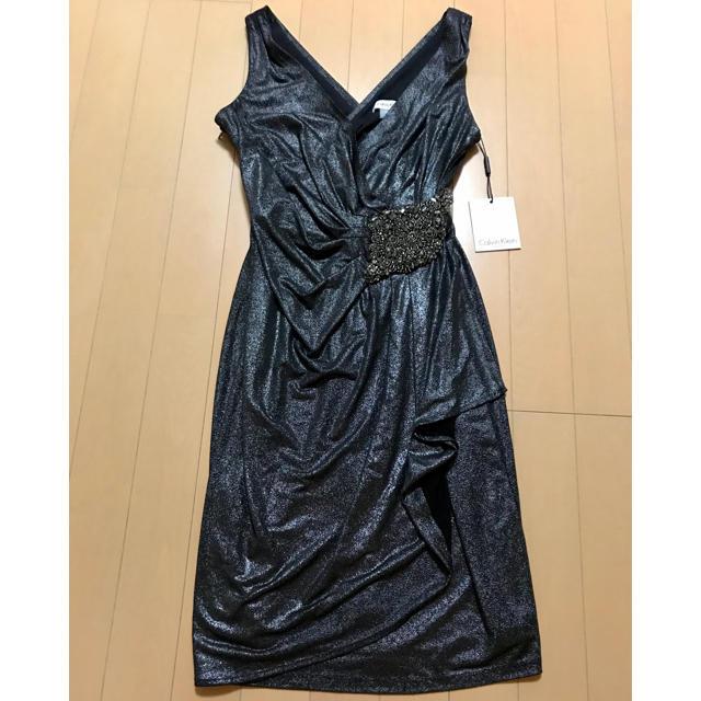 Calvin Klein(カルバンクライン)のカルバンクライン ドレス ワンピース  レディースのワンピース(ひざ丈ワンピース)の商品写真