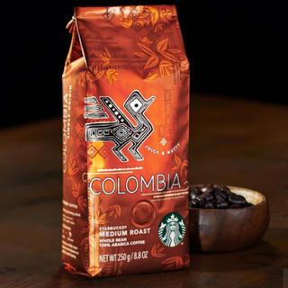 Starbucks Coffee - スターバックスコーヒー豆 コロンビア250g