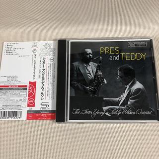 【美品SHM-CD】Press and Teddy / Lester young(ジャズ)