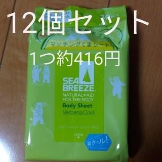 シーブリーズ ボディシート 30枚入 12個セット(制汗/デオドラント剤)