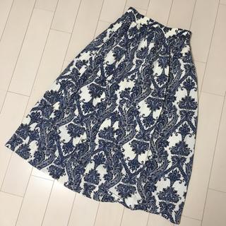 シマムラ(しまむら)のロングスカート ペイズリー柄 しまむら? M(ロングスカート)
