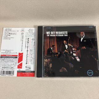 【美品SHM-CD】Oscar Peterson / Get Request(ジャズ)