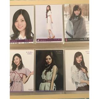 ノギザカフォーティーシックス(乃木坂46)の白石麻衣生写真セット(女性アイドル)
