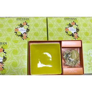 エステバン「テールダグリューム」 フレグランス 3箱で(お香/香炉)
