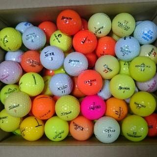 Bカラーロストボール100個(ゴルフ)