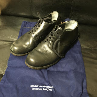 コムデギャルソン(COMME des GARCONS)のCOMMEdesGARCONS COMMEdesGARCONS 保存袋付シューズ(ローファー/革靴)
