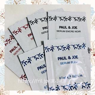 ポールアンドジョー(PAUL & JOE)のサンプル トリートメント ブラック ブルー レッド 美容液 ポール&ジョー(サンプル/トライアルキット)