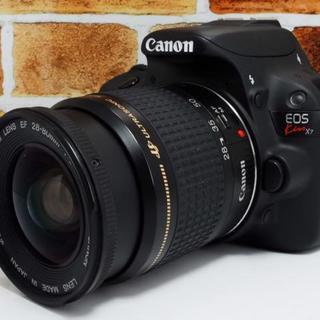 キヤノン(Canon)の【軽くて扱いラクラク♪】キャノン Canon Kiss X7(デジタル一眼)