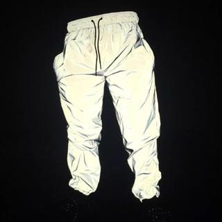 オフホワイト(OFF-WHITE)のリフレクターパンツ リフレクティブパンツ 新品(その他)
