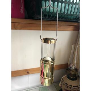 エバニュー(EVERNEW)のエバニュー(EVERNEW)真鍮製キャンドルランタン(ライト/ランタン)