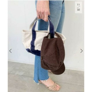 L'Appartement DEUXIEME CLASSE - アパルトモン L.L.Bean Canvas tote bag mini