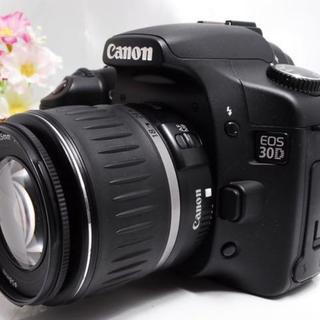 キヤノン(Canon)のカメラ初心者におススメ★キヤノン Canon 30D レンズキット(デジタル一眼)