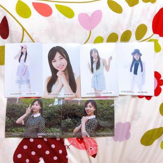 エイチケーティーフォーティーエイト(HKT48)の栗山梨奈 生写真セット(女性アイドル)