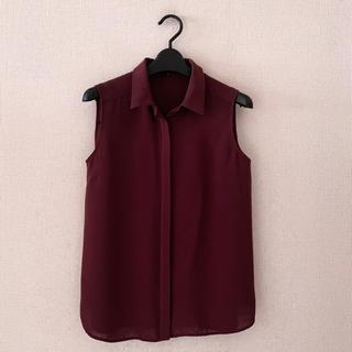 デミルクスビームス(Demi-Luxe BEAMS)のデミルクスビームス♡ノースリーブシャツ(シャツ/ブラウス(半袖/袖なし))