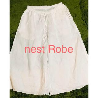 ネストローブ(nest Robe)のnest Robe リネン ワイド ペチパンツ(キュロット)