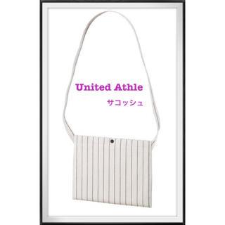 【新品】United Athle コットンツイン サコッシュ ホワイト(その他)