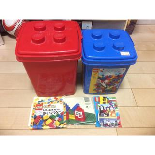 レゴ(Lego)のレゴ LEGO 赤いバケツ 青いバケツ スターターキット(積み木/ブロック)