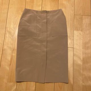 デミルクスビームス(Demi-Luxe BEAMS)のDemi-Luxe BEAMS フロントポケットタイトスカート(ひざ丈スカート)
