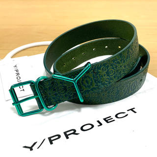 JOHN LAWRENCE SULLIVAN - Y/prject embossing leather belt