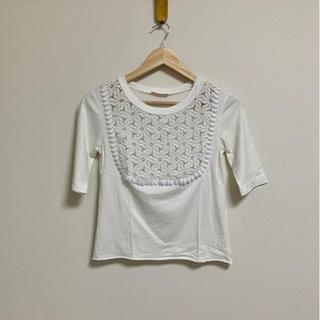 シーバイクロエ(SEE BY CHLOE)のSeeByChloe  フラワーレーストップス(Tシャツ(半袖/袖なし))