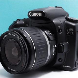キヤノン(Canon)の【初心者入門機 !】Canon EOS 20D レンズキット(デジタル一眼)