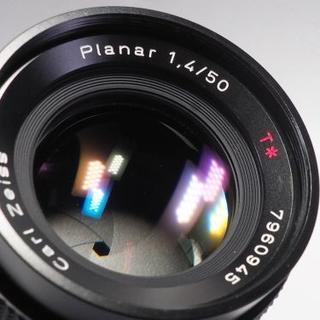 【やや難あり】CONTAX Planar 50/1.4T*MMJ(レンズ(単焦点))