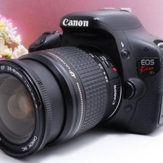 キヤノン(Canon)の【自撮りできる!】キャノン EOS kiss X5 レンズキット(デジタル一眼)