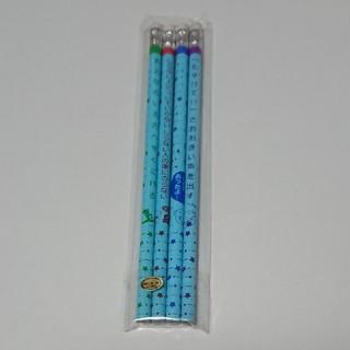 消ゴムつき鉛筆 4本(鉛筆)