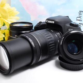キヤノン(Canon)の【全撮影シーンに対応! 】Canon 9000D トリプルレンズセット(デジタル一眼)