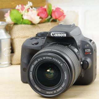 キヤノン(Canon)の小ちゃな一眼レフ★写真をスマホへ転送★キャノン EOS Kiss X7(デジタル一眼)