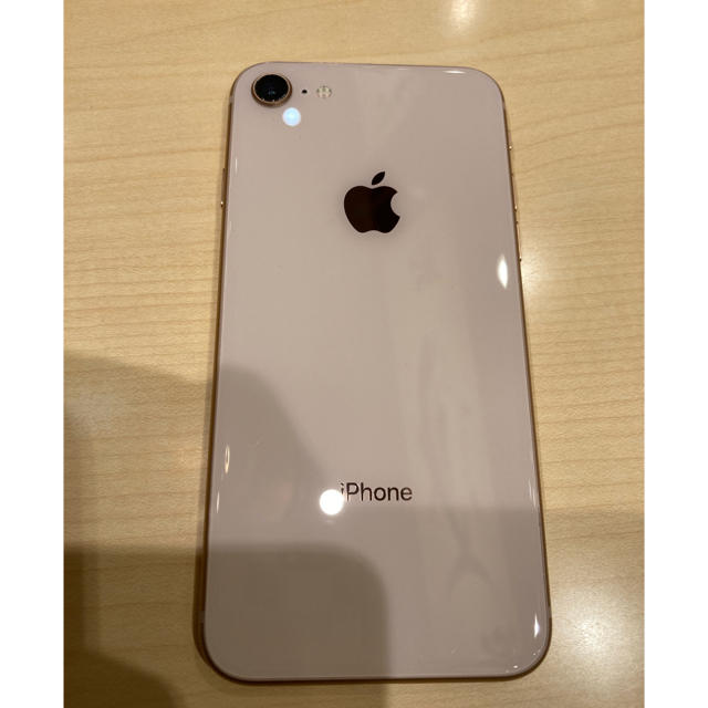 Apple(アップル)のiPhone8SIMフリー64GB スマホ/家電/カメラのスマートフォン/携帯電話(スマートフォン本体)の商品写真