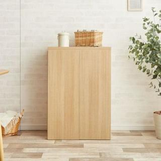 Fig(フィグ)シリーズ食器棚☆板戸(キッチン収納)