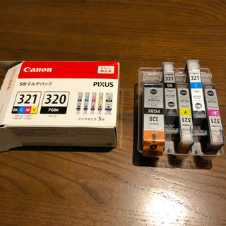 キヤノン(Canon)の新品未使用 BCI-321+320(PC周辺機器)