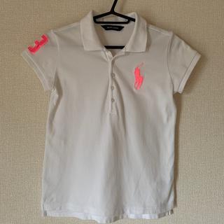 Ralph Lauren - ラルフローレン ビックポニー ポロシャツ 白 140