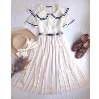 F i.n.t - コーデセット ♡ セーラーブラウス+マリンプリーツスカート ♡