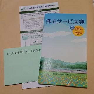 JR東日本 優待券(鉄道乗車券)