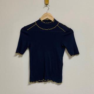 シーバイクロエ(SEE BY CHLOE)のSeeByChloe  ライン入りトップス(Tシャツ(半袖/袖なし))