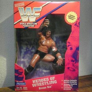 WWF (WWE) フィギュア サイコ・シッド+アンダーテイカー 未開封(スポーツ)