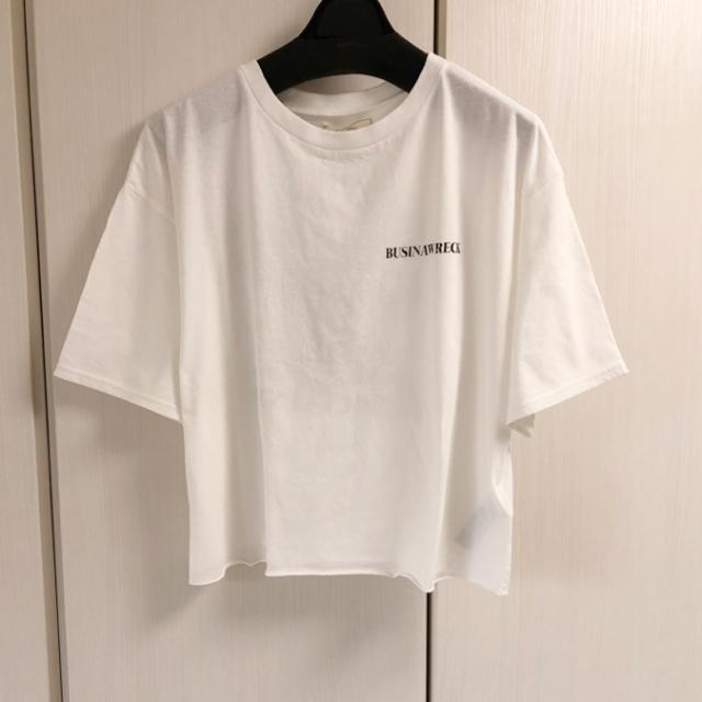 Ungrid(アングリッド)の新品 バックプリントイーグルTee レディースのトップス(Tシャツ(半袖/袖なし))の商品写真