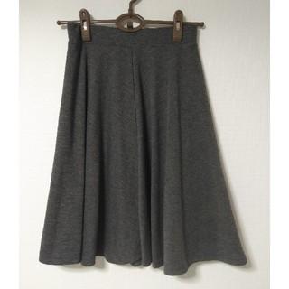 イマージュ(IMAGE)のやわらかフレアスカート Mサイズ(ひざ丈スカート)