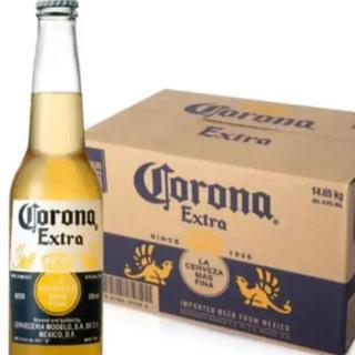 コロナ(コロナ)のコロナビール❣️エキストラボトル355㎖✖️24本賞味期限長いんよ。(ビール)