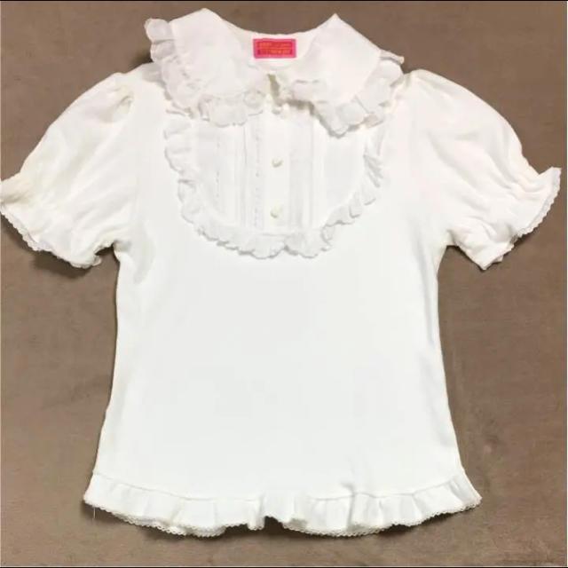BABY,THE STARS SHINE BRIGHT(ベイビーザスターズシャインブライト)のトップス  レディースのトップス(カットソー(半袖/袖なし))の商品写真