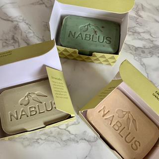 SABON - Nablus  soap 死海の泥石鹸 ナーブルスソープ